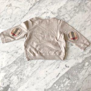 Baby Burberry sweater